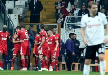 Beşiktaş'a Sivasspor darbesi! 2-1