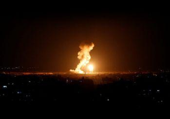 El Aksa kanalına saldırı! Katil İsrail Gazze'yi bir kez daha vurdu