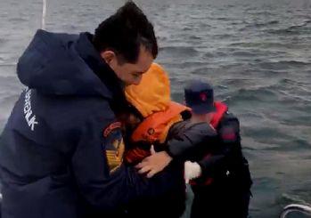 Sahil Güvenlik'ten operasyon... Ege'de göçmenler böyle kurtarıldı