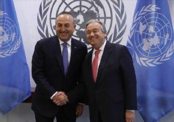 BM: Çavuşoğlu ile Guterres, Kaşıkçı cinayetini görüştüler