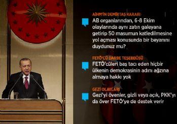 Erdoğan sert konuştu: Stokçuların depolarını basacağız