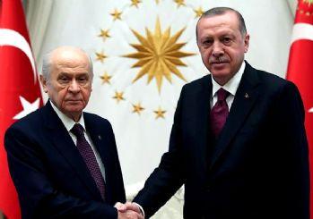 İttifak olacak mı? Erdoğan ve Devlet Bahçeli görüştü