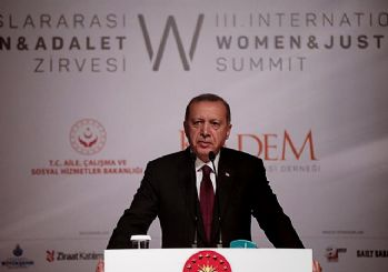 'Kadınları ve çocukları aşağılayan bir dünyanın kodları bize ait değildir' Erdoğan konuştu