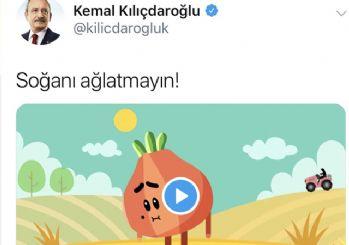 Kılıçdaroğlu'ndan 'soğanı ağlatmayın' paylaşımı