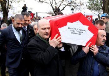Şehit polis Birol Öztekin'e son veda!