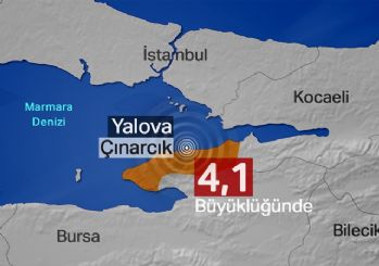 Yalova'da deprem... İstanbul'da da hissedildi