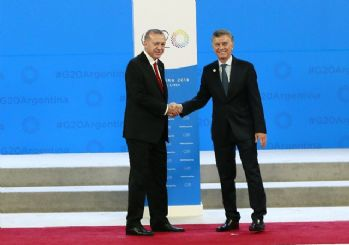 G-20 zivesi başladı! Başkan Erdoğan G-20'de
