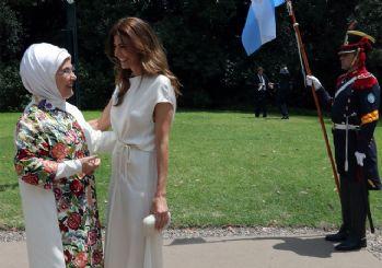 Emine Erdoğan, G-20'de resmi eş programa katıldı