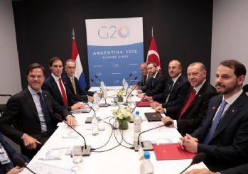 Başkan Erdoğan, Rutte'yi kabul etti