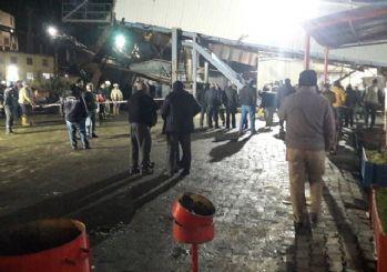 Soma'da madende kaya düştü: 10 işçi yaralı