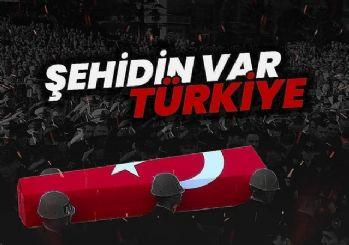 Afrin'de bir Türk askeri şehit oldu
