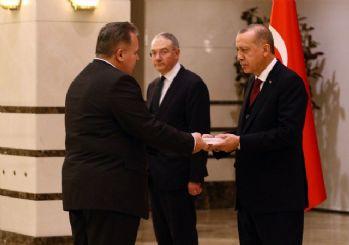 Cumhurbaşkanı Erdoğan, Hırvatistan Büyükelçisini kabul etti