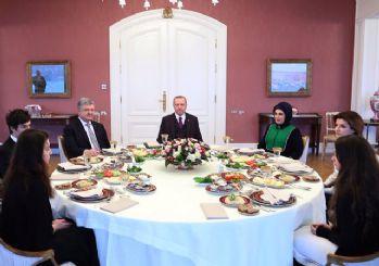 Vahdettin Köşkü'nde Erdoğan-Poroşenko görüşmesi