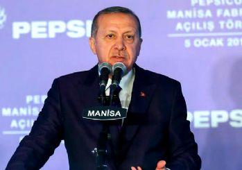 Erdoğan yeni hedefi açıkladı! Amerikan Pepsi'nin fabrikasını açtı