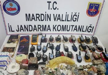 Mardin'de patlayıcı ele geçirildi: 191 kilogram