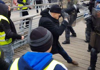 Polisleri yumruklayan boksör gözaltına alındı
