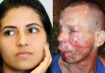 Gasp etmeye çalıştığı kadın dövüşçü çıktı