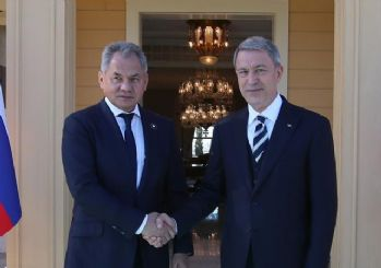 Milli Savunma Bakanı Akar, Rusya Savunma Bakanı Şoygu ile İdlib'i görüştü