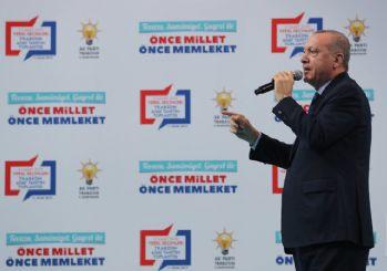 Erdoğan: CHP 'yalan destekleme fonu' oluşturdu