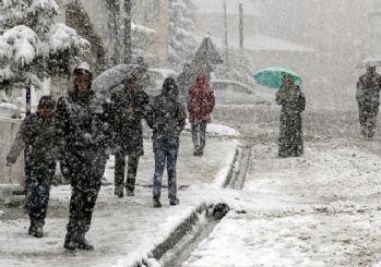Meteoroloji iller için uyarı listesi verdi: Yine kar geliyor