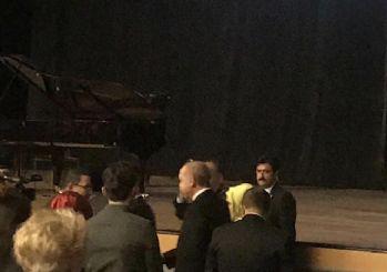 Cumhurbaşkanı Erdoğan, Fazıl Say konserinde