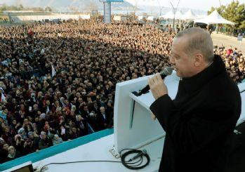 Erdoğan, AK Parti'nin Ordu adaylarını tanıttı