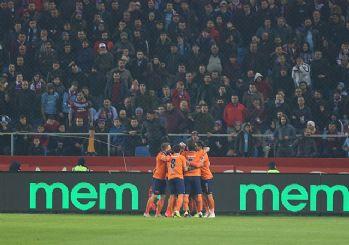 Başakşehir zorlu Trabzon maçını kazandı