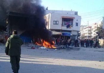 Lazkiye'nin meydanında patlama: 4 kişi yaralandı