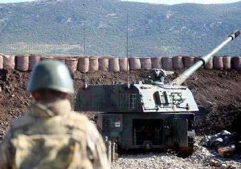 TSK, Suriye'de PKK mevzilerini vurdu