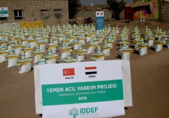 İDDEF'in Yemen'e insani yardımları devam ediyor