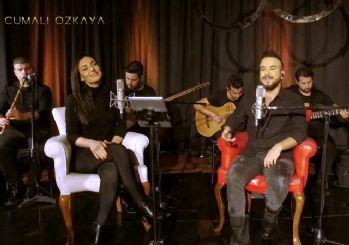Cumali Özkaya ve Sevcan Orhan düet yaptı