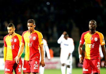 Galatasaray Alanya'da ağır yaralı: 1-1
