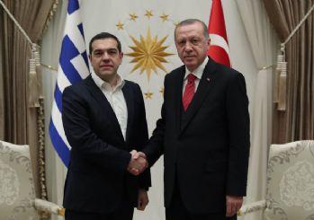 Aleksis Çipras Beştepe'de! Erdoğan ağırladı