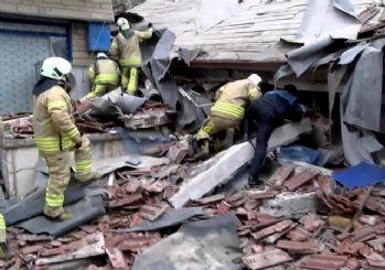 İstanbul'da 6 katlı bina çöktü: Ölü ve yaralılar var