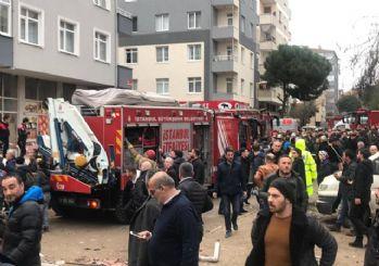 Kartal'da 43 daireli 7 katlı bina çöktü!