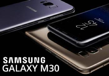 Samsung'un yeni telefonu Galaxy M30'un özellikleri