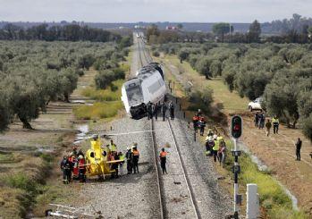 İspanya'da tren kazası oldu! 1 ölü 8 yaralı