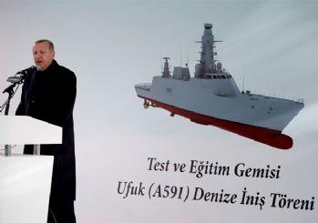Cumhurbaşkanı Erdoğan Ufuk Korveti hakkında: Türkiye'nin denizlerdeki gözü olacak!