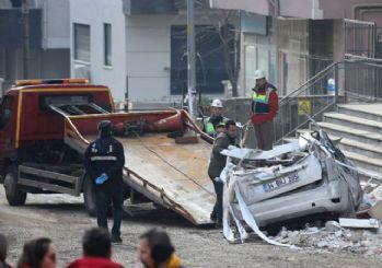 Kartal'daki çöken binada enkaz kaldırma çalışmaları sona erdi