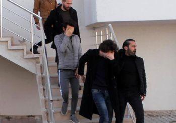 Karaman'daki aparta fuhuş baskını