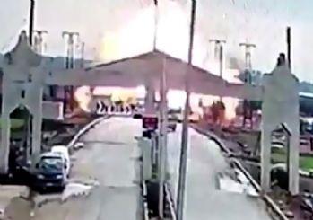 Kilis sınırında patlama!