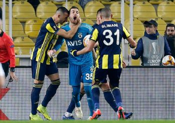 Fenerbahçe Avrupa Ligi'nde Zenit'i yendi!