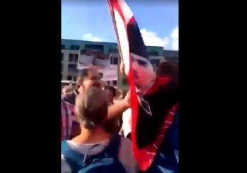 HDP Türk bayraklı CHP'lileri mitinge almadı