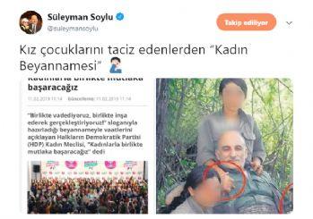 Soylu'dan HDP'ye ironik gönderme!