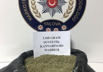 Yalova'da uyuşturucu tacirleriyle filmleri aratmayan sahne