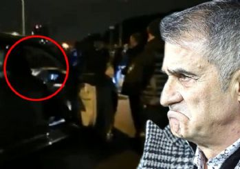 Beşiktaş taraftarlarından Şenol Güneş'e tepki