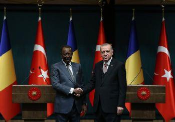 Başkan Erdoğan'dan Çad ile iş birliği vurgusu