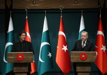 Başkan Erdoğan, Pakistan lideri ile görüştü