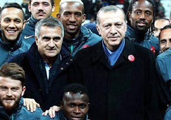 Erdoğan'dan Şenol Güneş'e tebrik mesajı