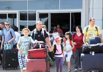 Antalya'da turist sayısında patlama